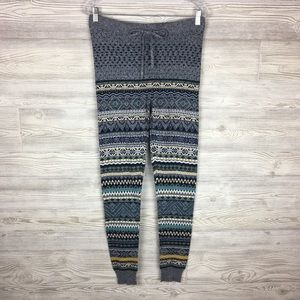 American Eagle | Fair Isle Print Sweater Leggings